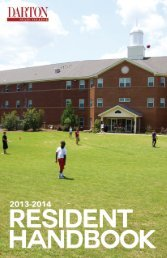 Experience - Darton State College Housing - Darton College