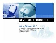 Revolusi Teknologi Informasi - Sharing