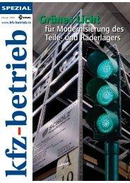 Grünes Licht - Scholz Regalsysteme GmbH