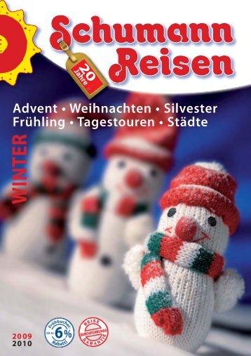 WINTER - bei Schumann Reisen