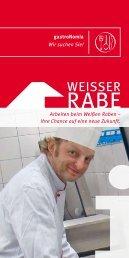 Flyer für Bewerber ca. 104 kb - Weisser Rabe