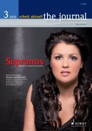 Carmina Burana 75 - Schott Music