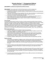 1: Engagement Efforts - Virginia Department of Social Services