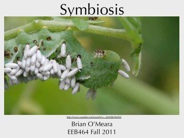 Symbiosis - Brian O'Meara Lab