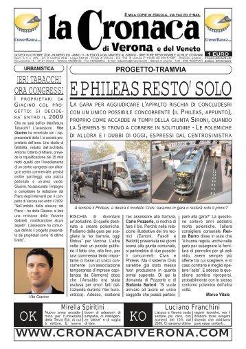 E PHILEAS RESTO' SOLO - la cronaca di verona   editori on line