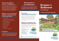 Erosion & Sediment Control - Cairns Regional Council