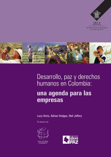 Desarrollo, paz y derechos humanos en Colombia: una ... - Bivipas
