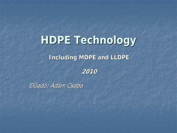 HDPE Technology - TVK