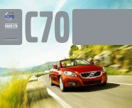 Broschüre Volvo C70 - Schwabengarage AG