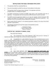 instructions for public defender applicants - Lackawanna County