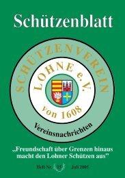 Sch.tzenblatt Umbruch PDF  2005 - Schützenverein Lohne eV von ...