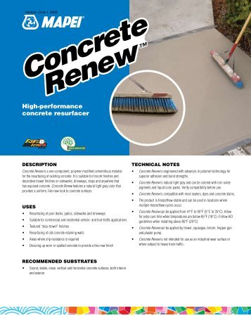 Concrete Renew Concrete Renew