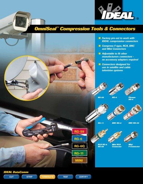 OmniSeal™ Compression Tools & Connectors - Ideal Industries
