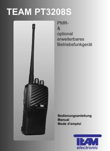 TEAM PT3208S - Team Electronic