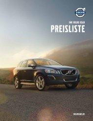 Preisliste Volvo XC60 - Schwabengarage AG