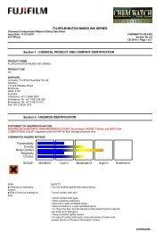 Chemwatch Australian MSDS 28-4435 - FUJIFILM Australia