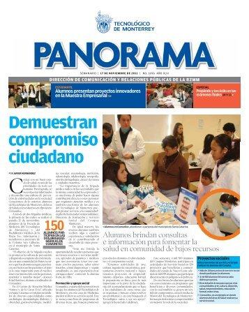 Demuestran compromiso ciudadano - Campus Monterrey ...