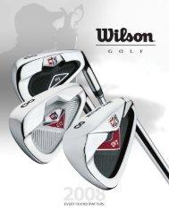 2008 Golf Catalogue - Wilson