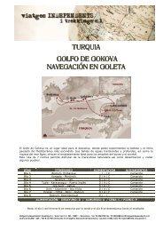 precios verano 2013 en el pdf adjunto - Viatges Independents