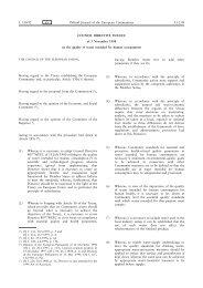 Council Directive 98/83/EC - EUR-Lex