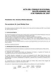 ACTA DEL CONSEJO DIVISIONAL SESIÓN NÚMERO ... - CBI - UAM