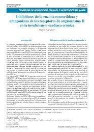Inhibidores de la enzima convertidora y antagonistas de ... - SciELO