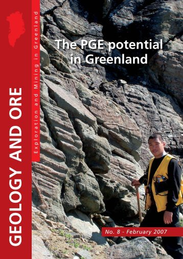 The PGE potential in Greenland