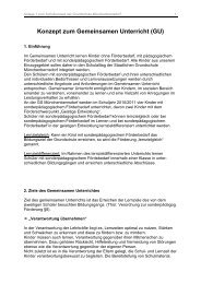 Konzept zum Gemeinsamen Unterricht (GU) - Thüringer Schulportal