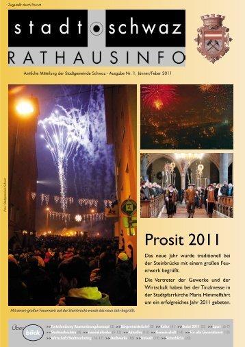 Budget 2011 - Schwaz
