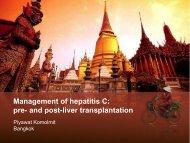 Management of hepatitis C: pre- and post-liver transplantation