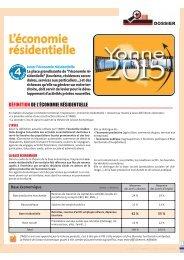 L'économie résidentielle - (CCI) de l'Yonne