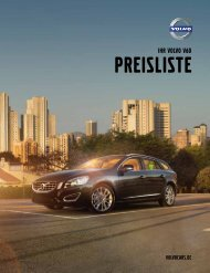 Preisliste Volvo V60.pdf - Schwabengarage AG