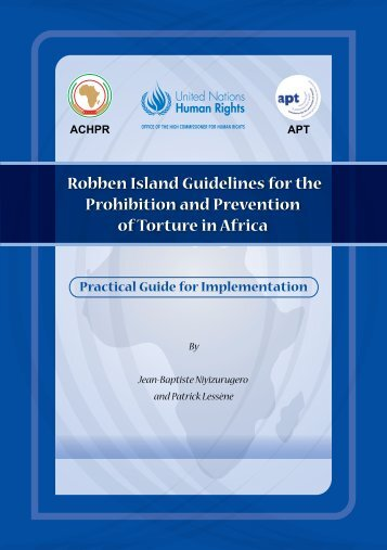 Robben Island Guidelines for the Prohibition and Prevention of ...