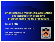 Understanding multimedia application chacteristics for designing ...