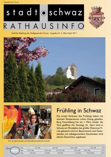 Frühling in Schwaz