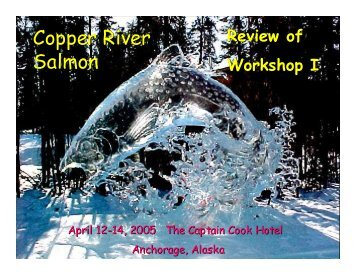 Salmon Management Systems - Ecotrust