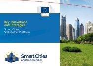 Key Innovations and Strategies - Smart Cities Stakeholder Platform