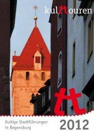 Kultige Stadtführungen in Regensburg - kulttouren