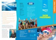 Swim Programs - MLC School