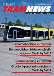 tramnews - Hanning & Kahl
