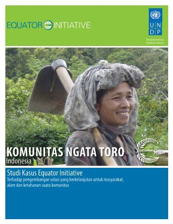 KOMUNITAS NGATA TORO - Equator Initiative