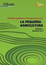 Reporte 4 (Balance 2011) - Grupo Propuesta Ciudadana