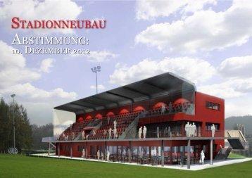 sTADIONNEUBAU - Sport Club Düdingen