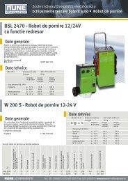 Bosch BSL2470, W200S, BAT 250, 251 - RUNE Piese Auto