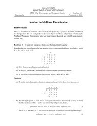University of Waterloo Midterm Examination - Patrick Lam