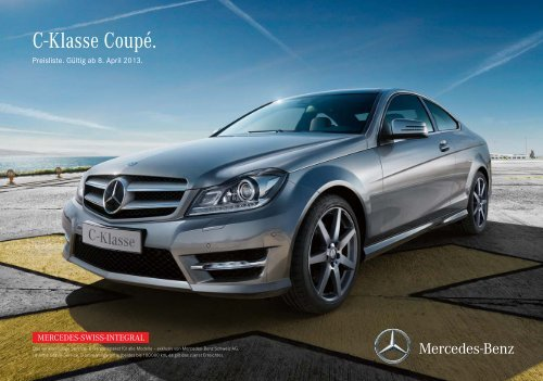 Download Preisliste C-Klasse Coupé gültig ab ... - Mercedes-Benz