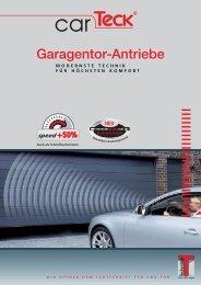 Prospekt-E-Antrieb - Der Garagentor-Spezialist...Garagentore