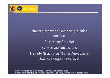 Nuevos Mercados de la Energia Solar Térmica - Boscoluz