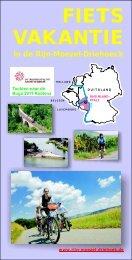 Fietsen à la carte 2011 - Tourist-Info Emmelshausen