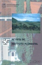 revista do instituto florestal